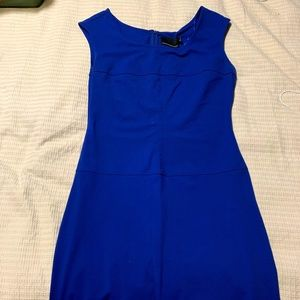 Electric Blue, Form Fitting Dress